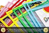 Pocket Pro 6 Dry Erase Pockets | Clear Plastic