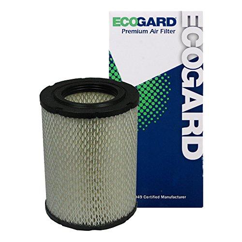 Oldsmobile Bravada Engine - ECOGARD XA5433 Premium Engine Air Filter Fits Chevrolet Trailblazer / GMC Envoy / Chevrolet Trailblazer EXT / GMC Envoy XL / Buick Rainier / Oldsmobile Bravada / GMC Envoy XUV / Isuzu Ascender