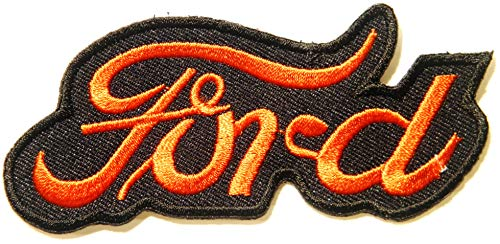 (Ford V8 Truck Pickup Car Racing Patch Iron on Sewing Embroidered Applique Logo Badge Sign Embelm Craft Gift)