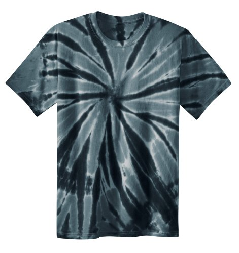Koloa Surf Co. Youth Colorful Tie-Dye T-Shirt in Youth Sizes XS-XL Black