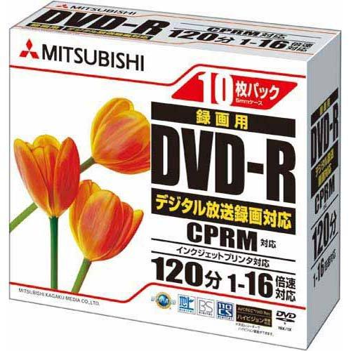 三菱化学メディア DVD-R VHR12JPP10