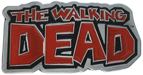 Main Street 24/7 The Walking Dead Logo Metal and Enamel Belt Buckle -