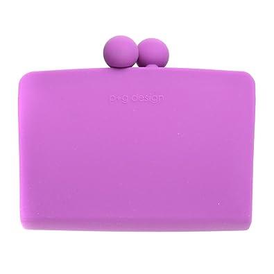 Amazon.com: P + G púrpura bolsa/monedero Organizador de ...
