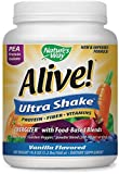 Alive Rice/Pea Vanilla Ultra-Shake 20oz powder by Nature's Way