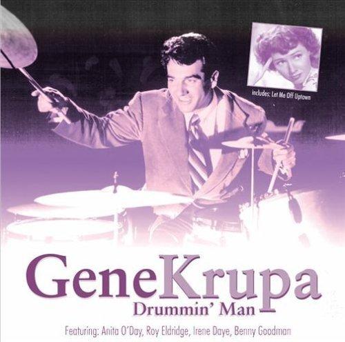 CD : Gene Krupa - Drummin Man (CD)