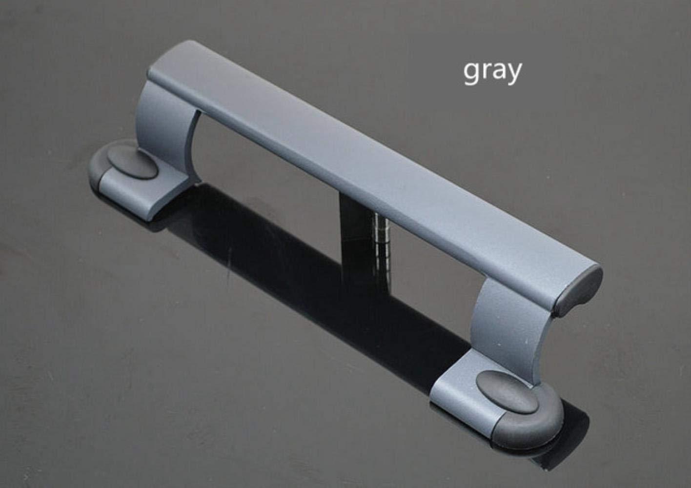 Ensalada manos puerta corredera de aleaci/ón de aluminio puerta de pl/ástico con la manija de sacudida tirador negro