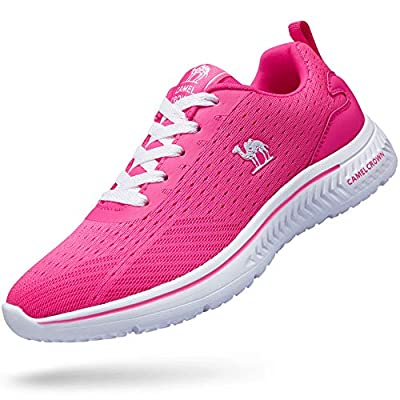 CAMEL CROWN Women Casual Fashion SneakersRunningShoes Lightweight Breathable Sport Athletic Walking Tennis Shoes
