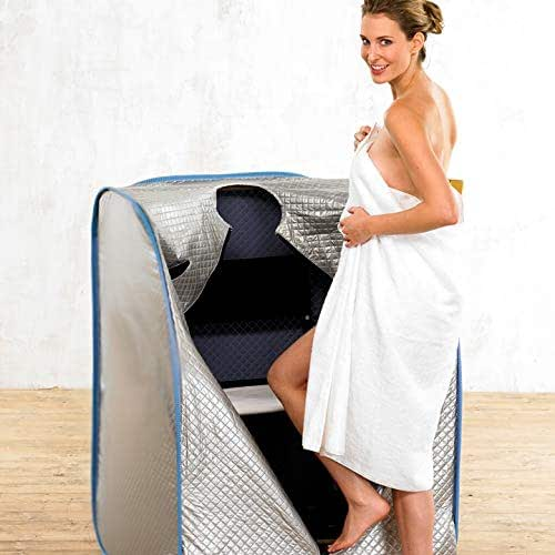 Relax Sauna 95%+ far Infrared dry sauna, improve health relieve pain inflammation