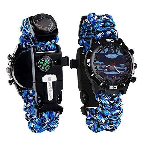 Survival Bracelet Watch Men