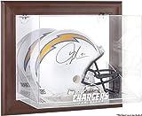 Mounted Memories San Diego Chargers Brown Helmet Display Case