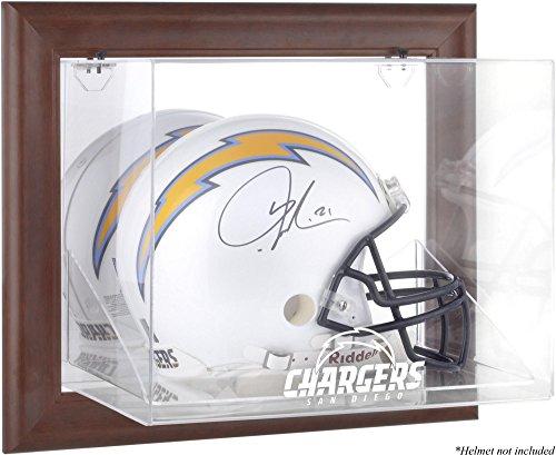 Mounted Memories San Diego Chargers Brown Helmet Display Case by Mounted Memories
