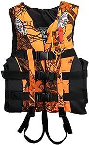 Galapare Life Jacket Vest,Water Sports Floatation Vest Adults Children Buoyancy Waistcoat for Kayak Fishing Bo