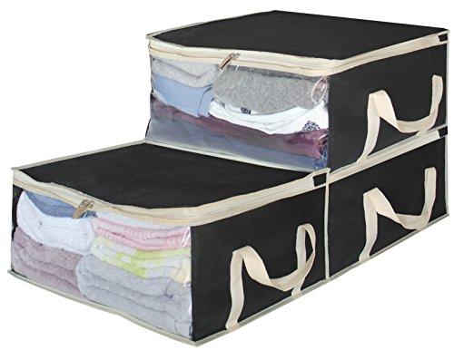Storage Bag Organizers Under Bed Clothes Storage