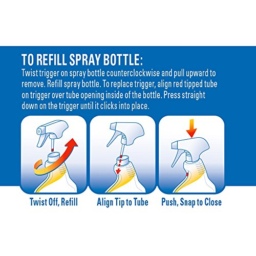 Clorox Plus Tilex Mold and Mildew Remover Spray Bottle, 32 Fl Oz (Packaging May Vary)