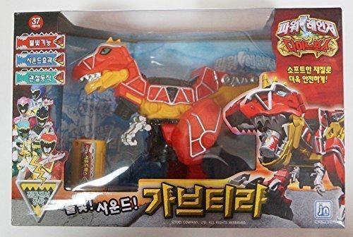Light /& Sound Gabutyra T-Rex Megazord Action Figure Power Rangers Dino Charge