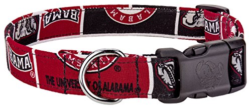 - Country Brook Design Alabama Custom Handmade Designer Dog Collar-L