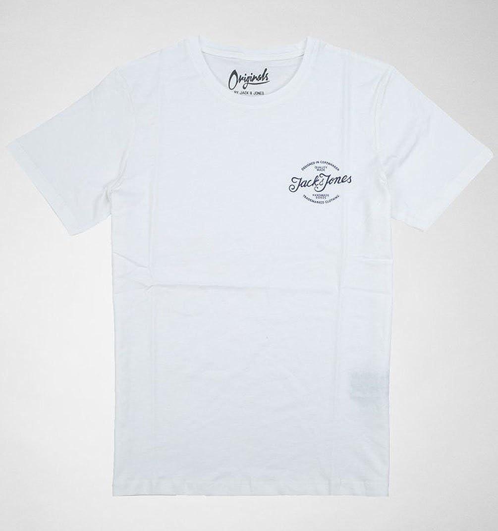 f36761295f7c Jack   Jones - T-Shirt - Homme Cloud Dancer - - L  Amazon.fr  Vêtements et  accessoires