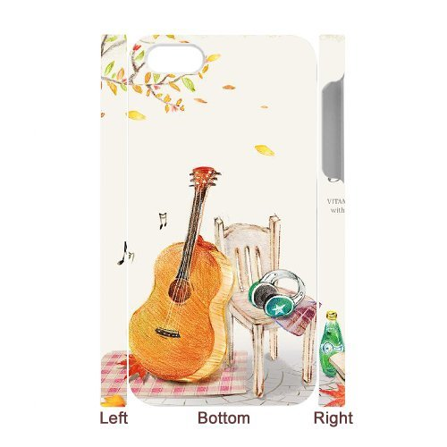 SYYCH Phone case Of Personalized Design Violin 2 Cover Case For Iphone 4/4s