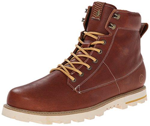 Volcom Men's Smithington Winter Boot - Rust - 12 D(M) US