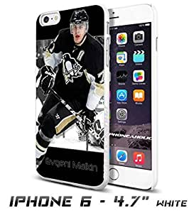 Hockey NHL Evgeni Malkin, Pittsburgh Penguins, Cool iphone 4 4s Inch Smartphone Case Cover Collector iphone TPU Rubber Case White [By PhoneAholic]
