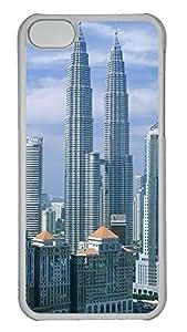 iPhone 5C Case 3D Building PC iPhone 5C Case Cover Transparent