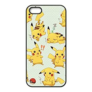 Anime cartoon Pokemon Pikachu Cell Phone Case for iPhone 5S