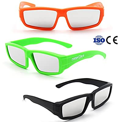 NEWBEA Solar Eclipse Glasses - CE and ISO Certified Safe Shades for Direct Sun Viewing - Sun Eye Protection - Direct Solar Viewing