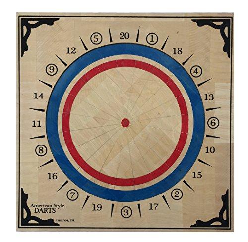 Tournament Style Darts - American Style Wood Dartboard