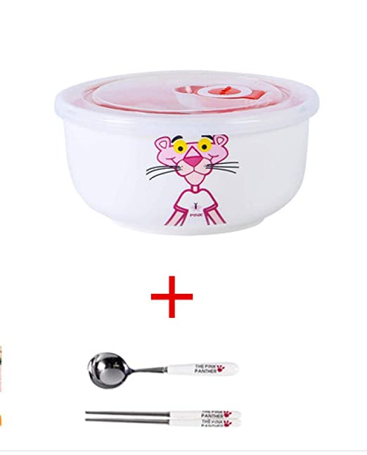 JJINX Dibujos Animados Pink Panther Lunch Box Microondas ...