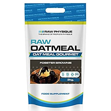 Raw Physique - Harina de Avena - 3 kg - Brownie: Amazon.es: Alimentación y bebidas