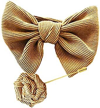 Emoltem Handmade Pre-tied Bowtie Best accessory & gift idea for men-EMF-MHT0006