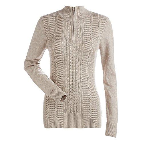 (Nils Womens Diana 1/4 Zip Sweater (Champagne /)