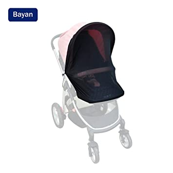 Canopy Stroller Sun Shade Baby Car Seat Sun Shade Cover Crib Net-Fits Most Single  sc 1 st  Amazon.com & Amazon.com: Canopy Stroller Sun Shade Baby Car Seat Sun Shade ...