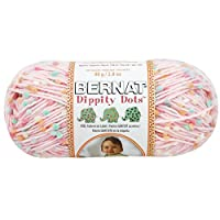 Spinrite Dippity Dots Yarn, Pink