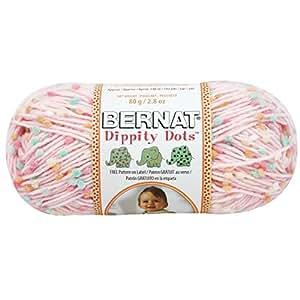 Spinrite Dippity Dots Yarn, Pink