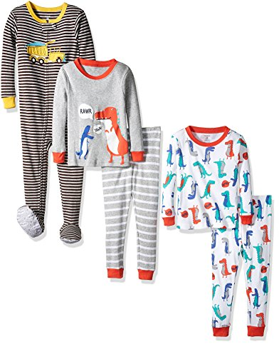 carters-boys-5-piece-cotton-pajama-set-bear-trucks-12-months