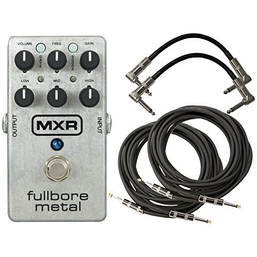 MXR M116 Fullbore Metal Distortion Pedal w/4 FREE (Mxr Distortion Pedal)