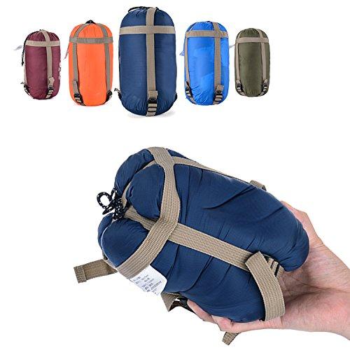 OZAVO Schlafsack Camping Wandern Reise Schlafsäcke Outdoor zum Zelten - klein, warm, ultraleicht und wasserdicht Sommerschlafsack Deckenschlafsack Sleeping Bag Außen Outdoor