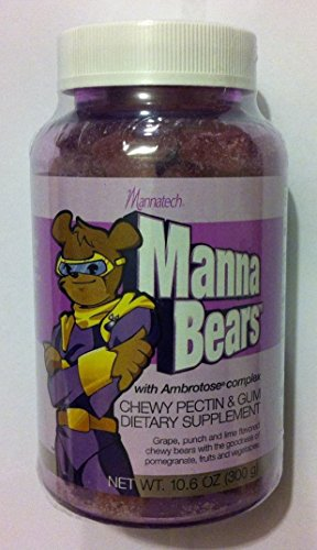 Mannatech Mannabears  The Sweetest Way To Provide Your Kids Antioxidant Protection