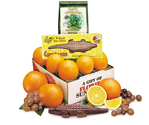 Florida Oranges and Chocolate Gator a Florida Favorites