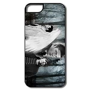 Summer Supernatural IPhone 5/5s Plastic Cases Anti Slip