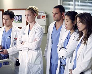 ELLEN POMPEO AS DR. MEREDITH GREY, SANDRA OH AS DR. CRISTINA YANG,