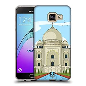 Head Case Designs India Doodle Cities Series 3 Soft Gel Case for Samsung Galaxy A3 (2016)