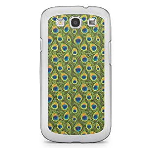 Peacock Samsung Galaxy S3 Transparent Edge Case - Animal Prints Collection