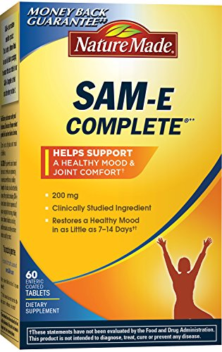 Cheap Nature Made SAM-e Complete 200 mg. Tablet (Helps support Healthy Mood & Joint Comfort) Value Size 60 ct