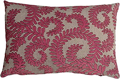 Amazon Com Pillow Décor Brackendale Ferns Pink Rectangular Throw Pillow Home Kitchen