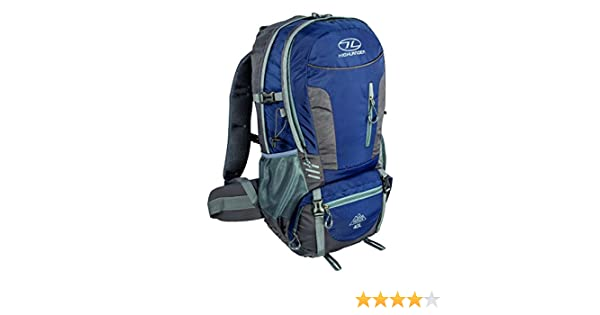 Highlander Hiker Mochila, Unisex Adulto, Azul, 40 l: Amazon.es ...