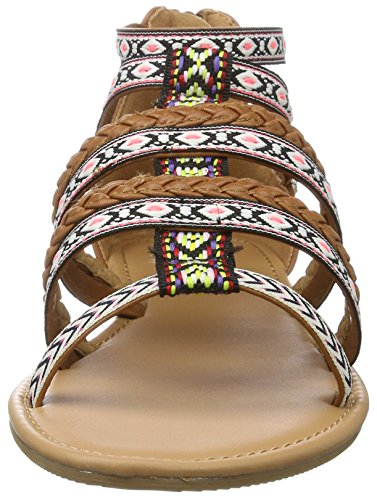 Shoes PU Buffalo a 315721 con Sandalias Gm S10213 Marr para Leather Cu Mujer xqUXCdU