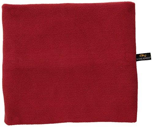 Screamer Neckwarmer - Kids Fleece, Red, One Size