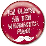 Kinder Button Wichtelgeschenk Weihnachten Weihnachtsmann